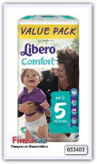 Погузники Libero Comfort Value Pack S5 - 64 шт