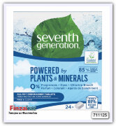 Таблетки для п/м машины SEVENTH GENERATION Konetiskitabletti All in 1 Free & Clear 24 шт