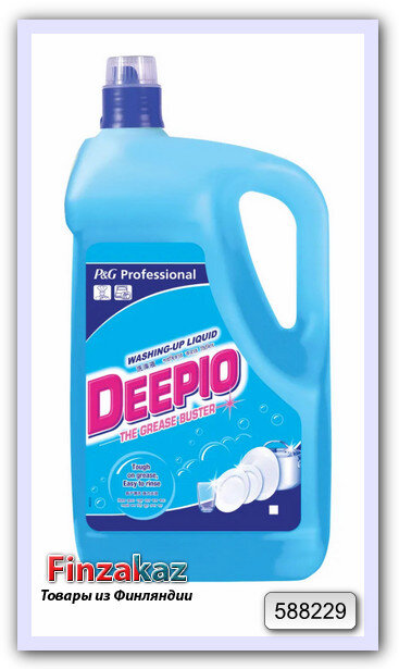 Жидкость для мытья посуды P&G Professional Deepio Grease Buster Washing Up liquid 5 л