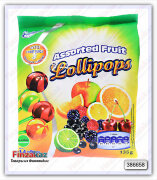 Конфеты Emotionali Assorted Fruits Lollipops 135 гр