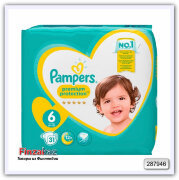 Подгузники Pampers Premium Protect S6 - 31 шт