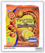 Конфеты Emotionali Cola & Lemon Lollipops 135 гр