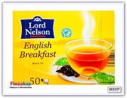 Чёрный чай Lord Nelson English Breakfast 50 шт