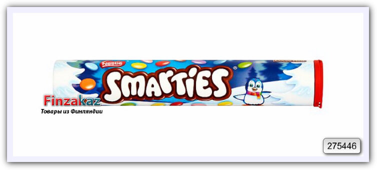 "Дражже Nestle ""Smarties Giant Tube"" 130 гр"