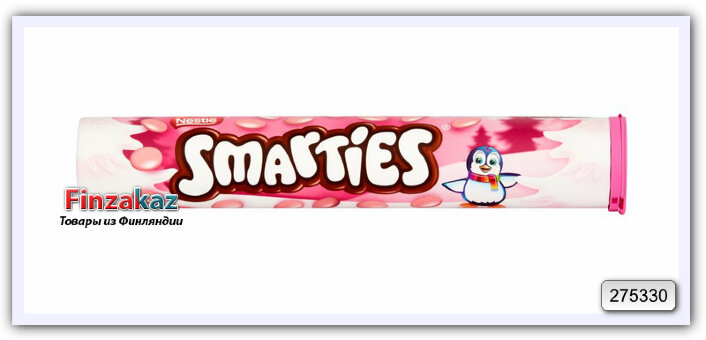 Дражже Nestle Pink Smarties Giant Tube 130 гр