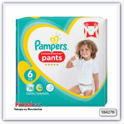 Трусики Pampers Baby Dry Pants S6 - 28 шт