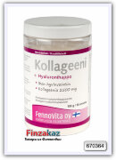 Коллаген плюс гиалуроновая кислота FENNOVITA Kollageeni + Hyaluronihappo 2500 mg, 150/ 50 порций